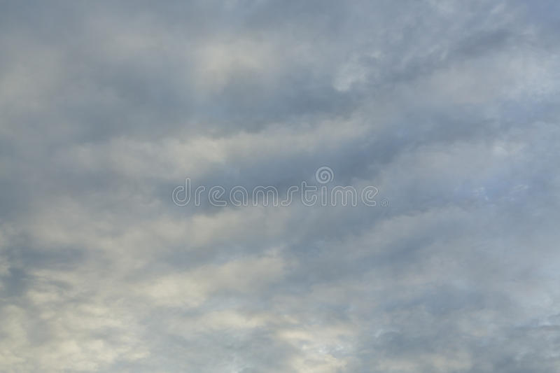 Dramatic moody dark storm cloud sky used image. For a bad day background stock photo