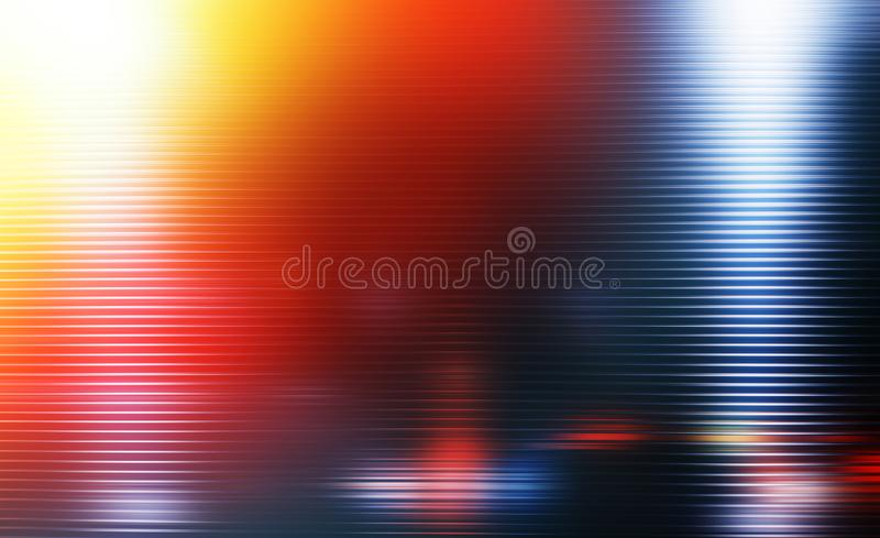 Dramatic motion blur lines with light leak background stock photography
