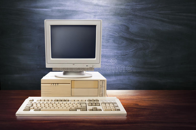 Download Dramatic Old, Vintage Workspace Stock Image - Image: 25350367
