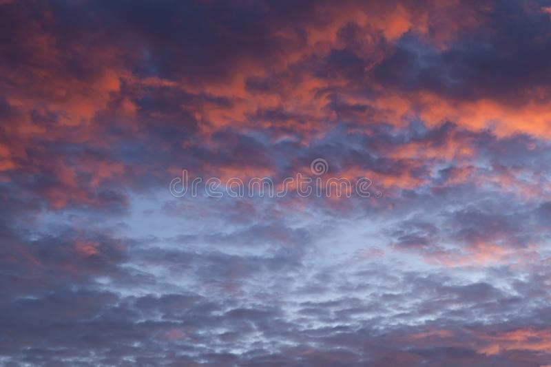 Dramatic pink sunset cloudscape 72 royalty free stock images