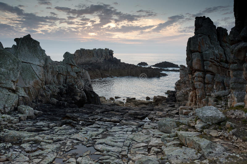 Download Dramatic Rocky Coastline Royalty Free Stock Images - Image: 16068229