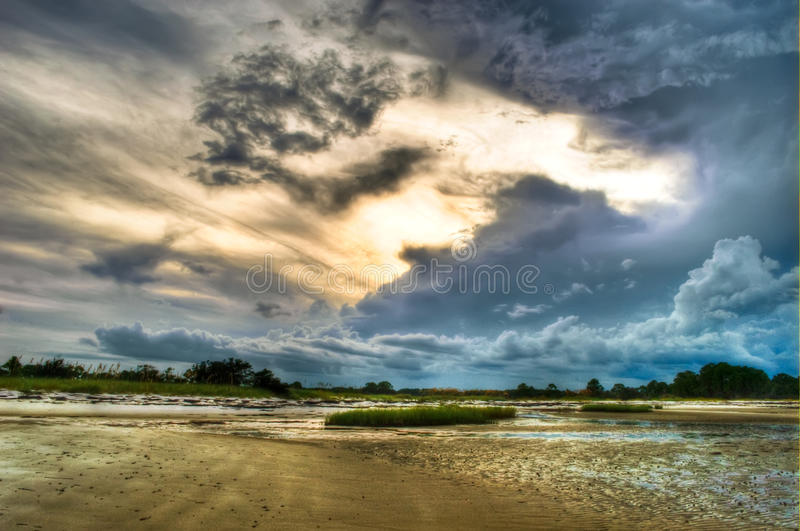 Dramatic Skies Royalty Free Stock Images