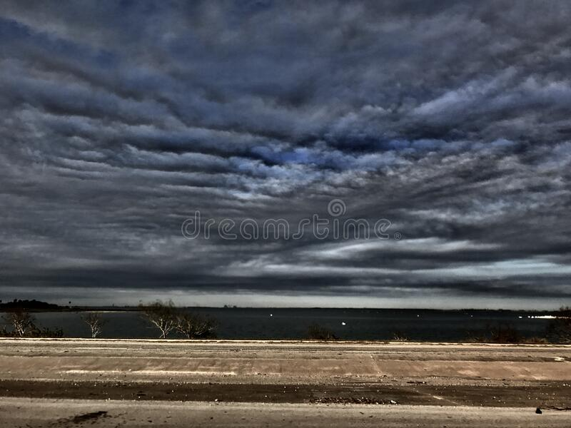 Dramatic Skies Over Country Field Free Public Domain Cc0 Image