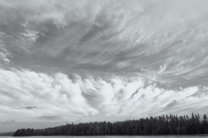 Download Dramatic sky stock photo. Image of form, clouds, shore - 23599740