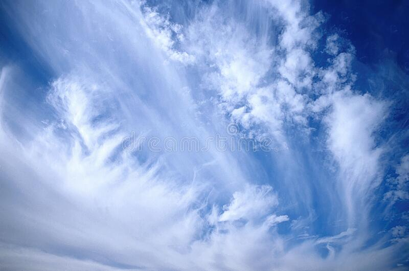 Dramatic Sky With Clouds stock photos
