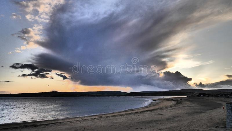 Dramatic sky effects stock images