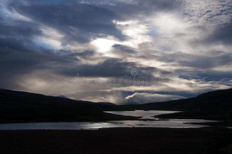 Dramatic Sky On The Isle Of Skye Stock Photography