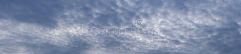 Dramatic sky panorama. Dramatic cloudy sky panorama landscape royalty free stock image
