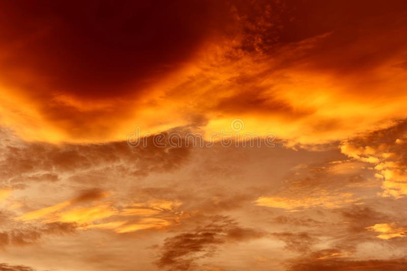 Dramatic sky sunset or sunrise colorful red and orange sky over and cloud beautiful multicolor fiery stock photos