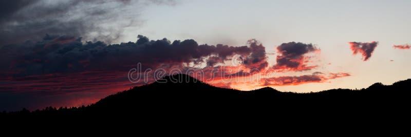 Dramatic South Dakota Sunset royalty free stock image