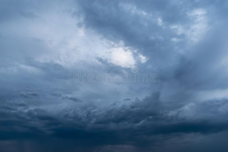 Dramatic stormy dark cloudy sky, natural photo background. Airs, atmospheres, backgrounds, beautiful, blues, cloudiest, clouds, cloudscapes, colors, dangers stock images