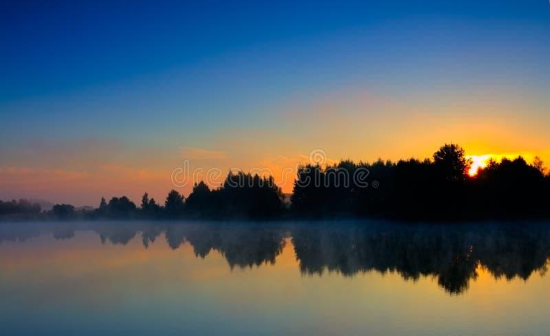 Download Dramatic sunrise stock photo. Image of serene, silence - 17524132