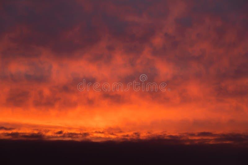 Dramatic sunrise sky. Nature background. Morning sky. Dramatic sunrise sky stock photo