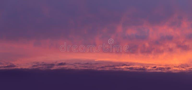 Dramatic sunrise sky. Nature background. Morning sky. Dramatic sunrise sky royalty free stock photography
