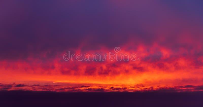Dramatic sunrise sky. Nature background. Morning sky. Dramatic sunrise sky stock image