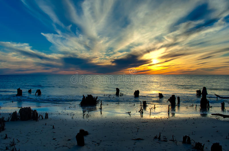 Download Dramatic Sunset stock image. Image of sunset, environment - 12609345