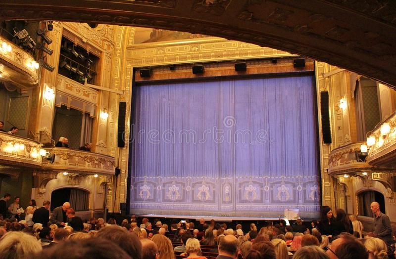 At the Dramatic Theatre in Stockholm stock images