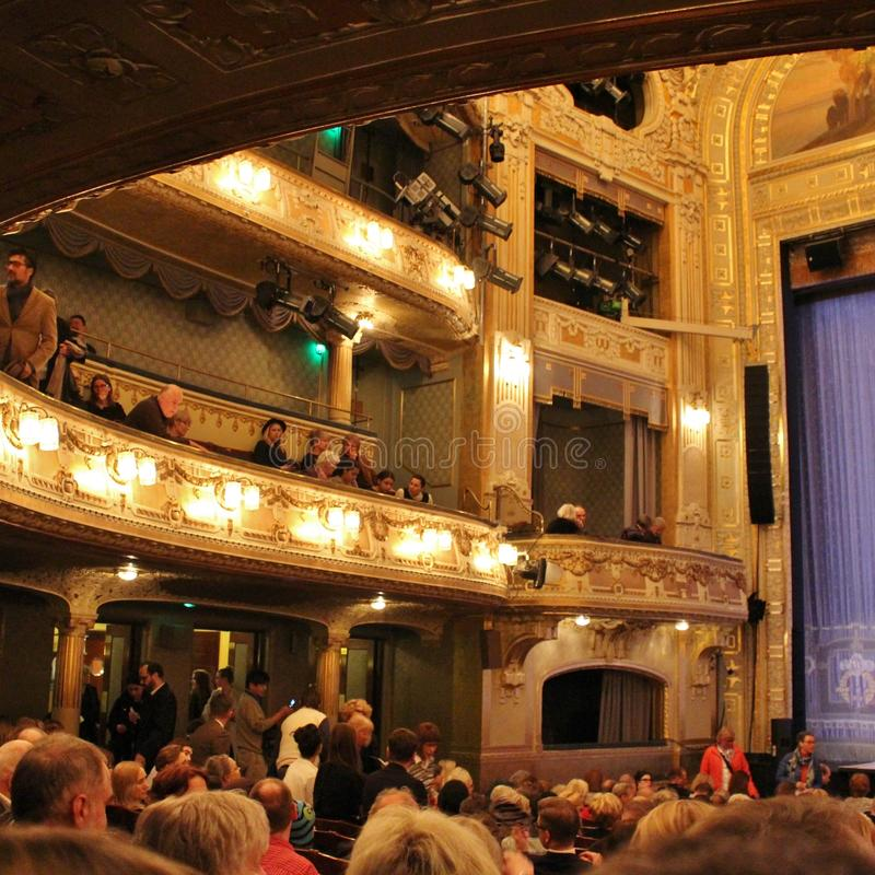 At the Dramatic Theatre in Stockholm royalty free stock image