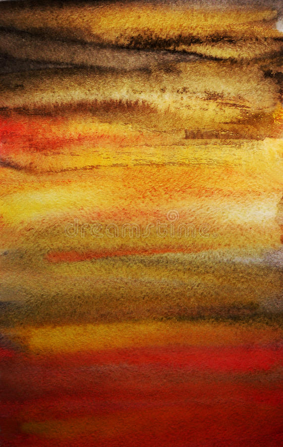 Free Dramatic Watercolor Hand Painted Art Background Stock Images - 18377204