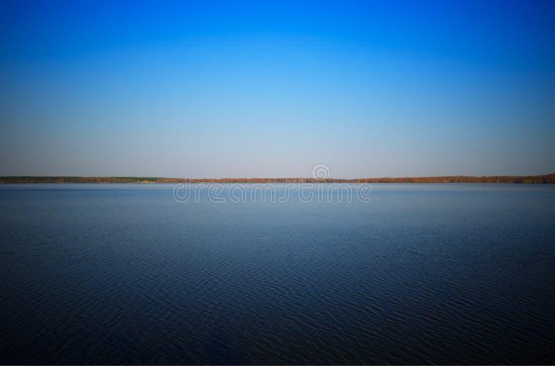 Dramatische het landschapsachtergrond van de landhorizon hd royalty-vrije stock foto's