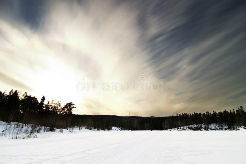 Dramatische Landsacpe royalty-vrije stock fotografie