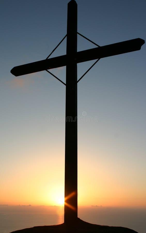 dramatisk solnedgång 2 arkivfoto