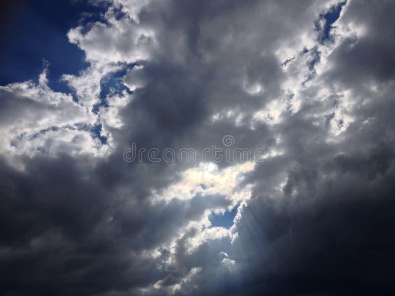 dramatyczne niebo fotografia royalty free