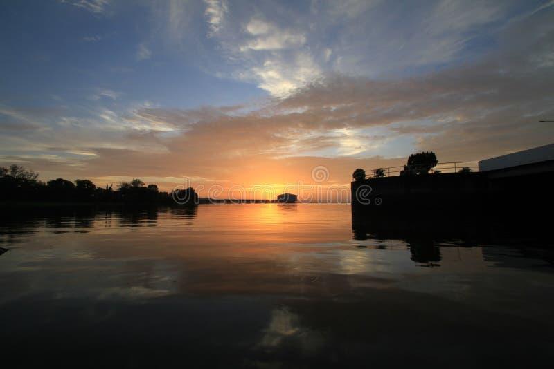 dramatyczny chmury słońca fotografia royalty free