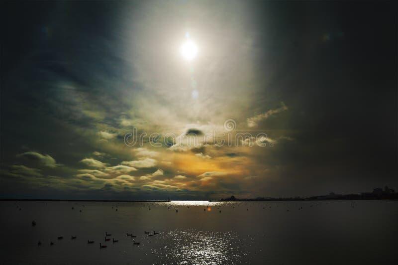 Dramatyczny Niebo zdjęcia stock