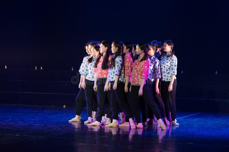 Drame collectif de danse de la force centripète 4-Lilac photo libre de droits