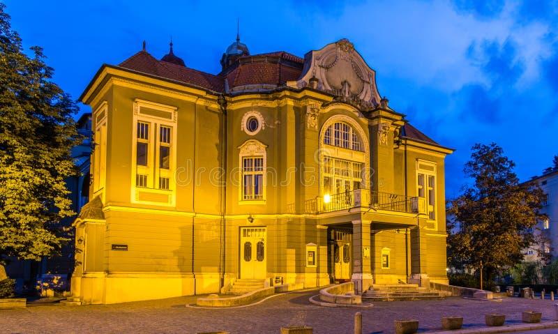 Dramma sloveno di Ljubljanska del teatro nazionale fotografia stock libera da diritti