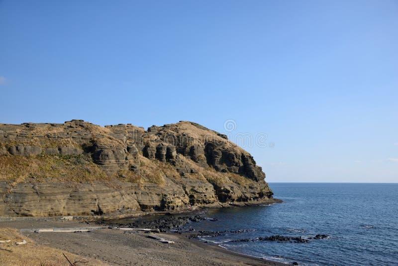 Drangon-Kopf-Küste (YongMeori) stockfoto