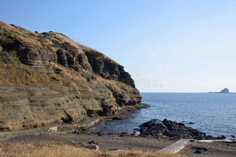 Drangon-Kopf-Küste (YongMeori) stockfotos