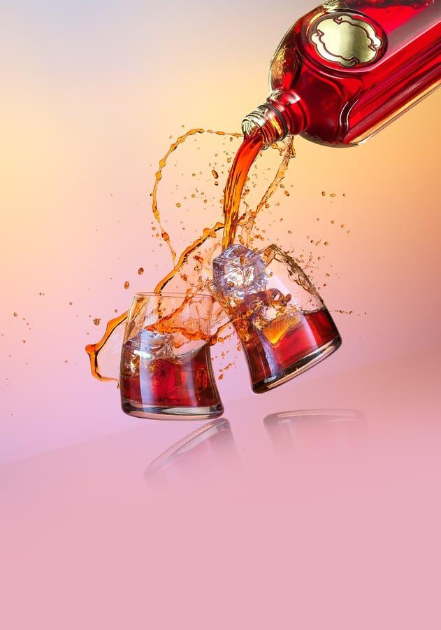 drank royalty-vrije stock afbeelding