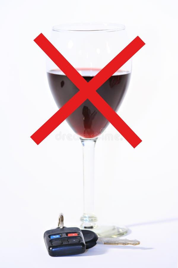 Drank of aandrijving? royalty-vrije stock fotografie