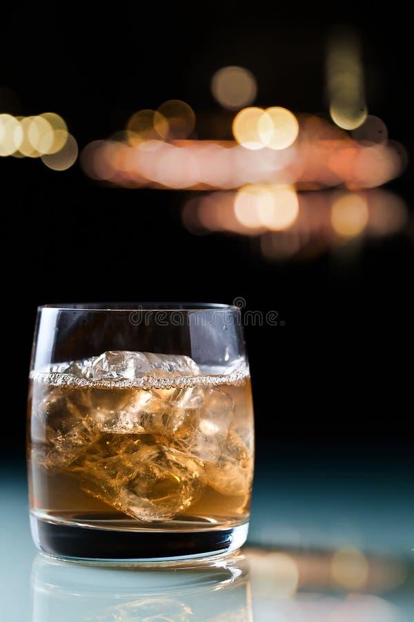 Drank met ijs royalty-vrije stock foto