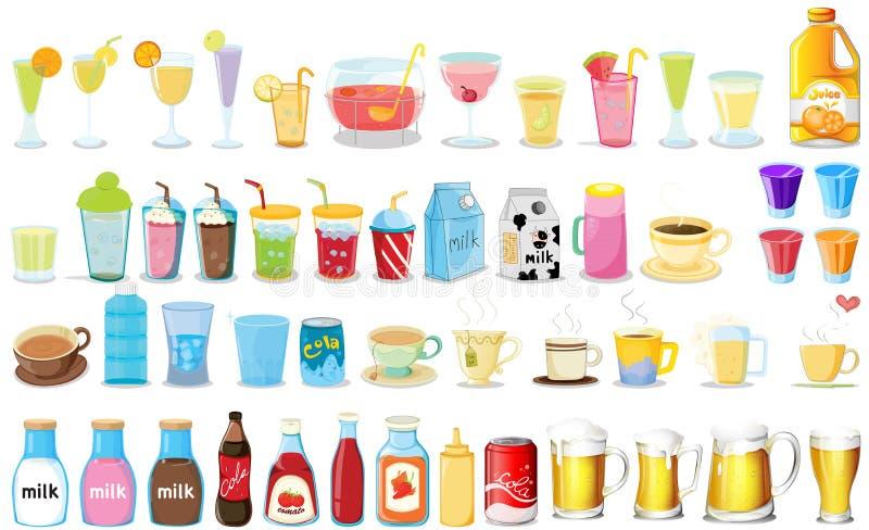 dranken stock illustratie