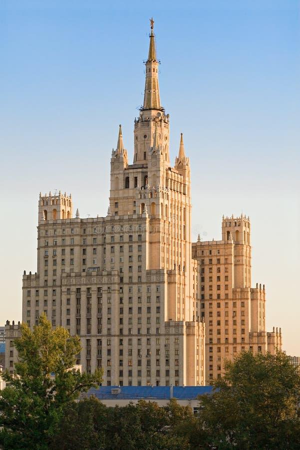 drapacz chmur Stalin zdjęcie stock