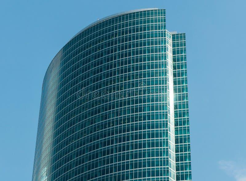 Drapacza chmur centrum biznesu Moskwa miasto, Rosja zdjęcia royalty free