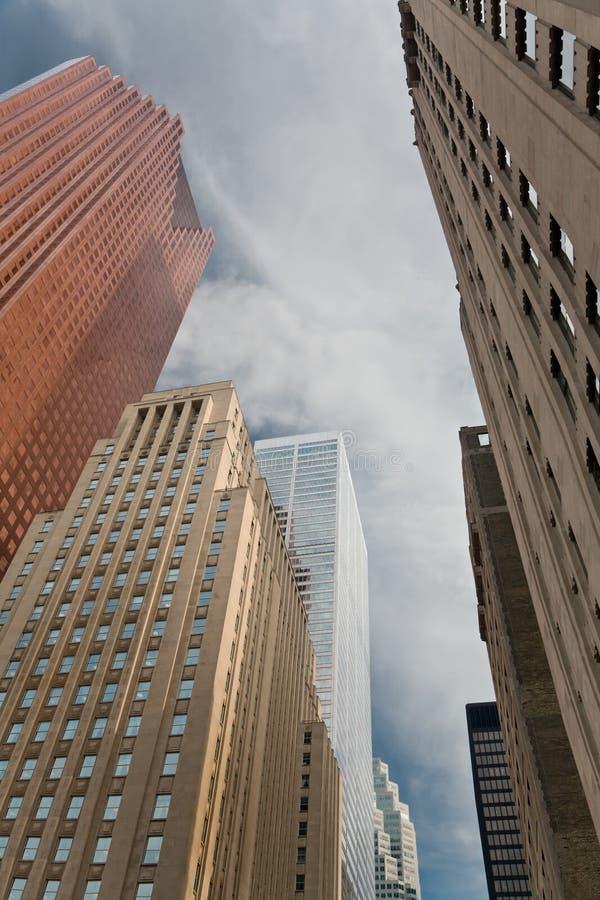 drapacze chmur Toronto fotografia stock