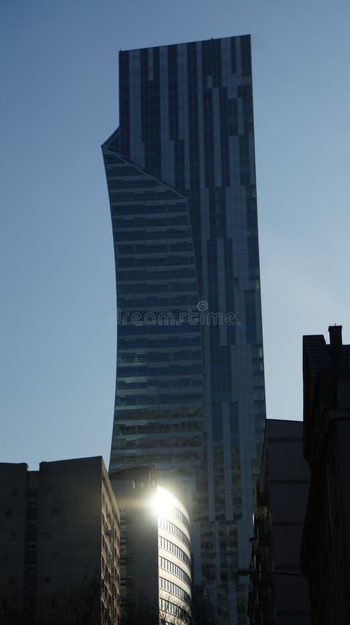 Download Drapacze Chmur W Centrum Miasta Warszawa Obraz Stock Editorial - Obraz złożonej z powierzchowność, megalopolis: 106908429