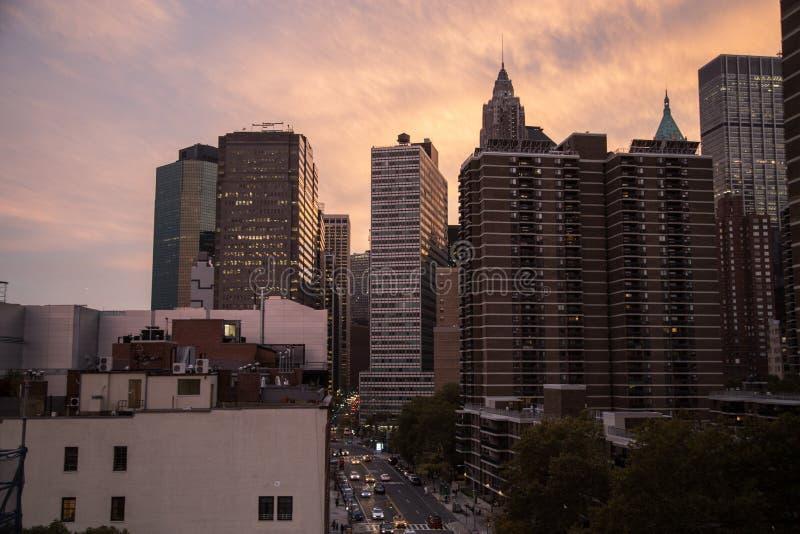 Drapacze chmur w Nowy Jork obraz royalty free