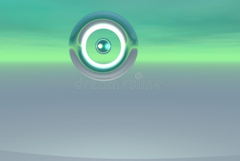 Drapeau étranger de logo d'alliage illustration libre de droits