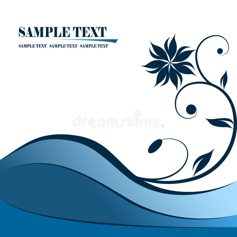 Drapeau illustration stock