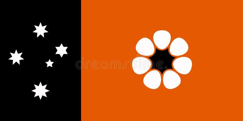 Drapeau australien de territoire du nord illustration libre de droits
