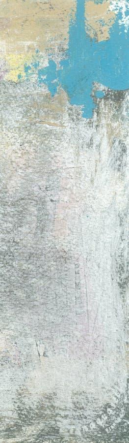 Drapeau bleu et blanc abstrait illustration stock