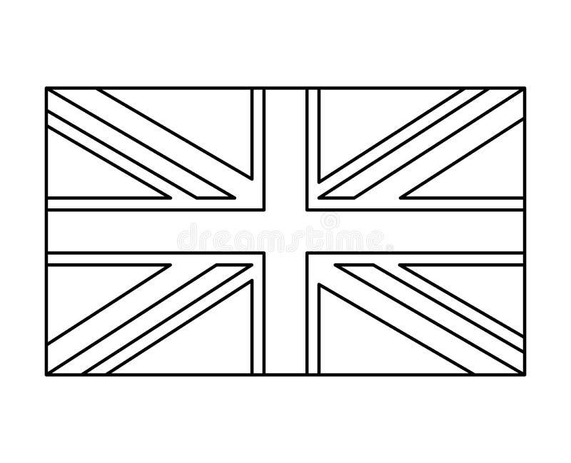 drapeau britannique  conception d u0026 39 ic u00f4ne de symbole de