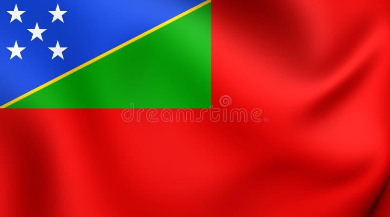 Drapeau civil de Solomon Islands illustration libre de droits