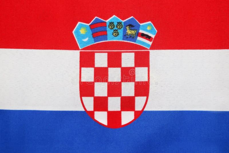 Drapeau croate photo stock