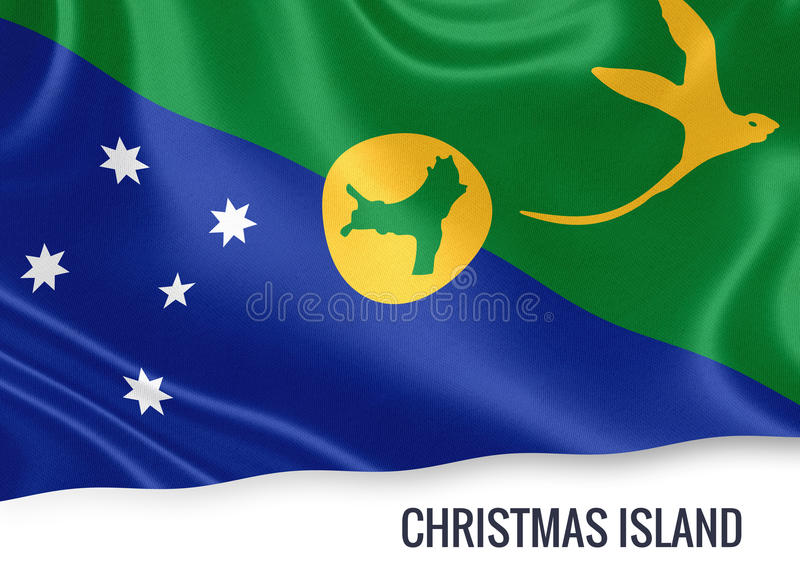 Drapeau d'Île Christmas d'état australien illustration libre de droits